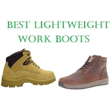 top 10 best lightweight work boots in 2017 complete guide