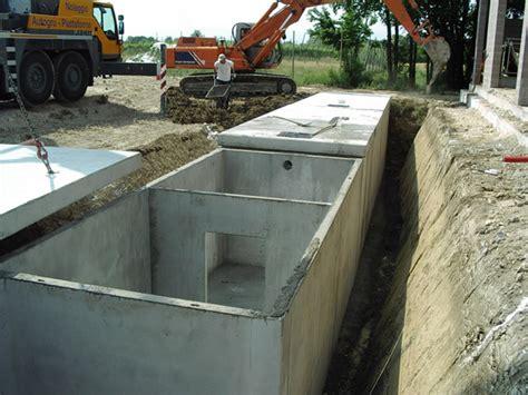 vasca in cemento vasche e pozzettoni in cemento su misura standard e fuori