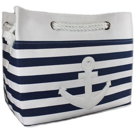 Nautical Laundry Bag From The Gifted Penguin Laundry Nautical Laundry