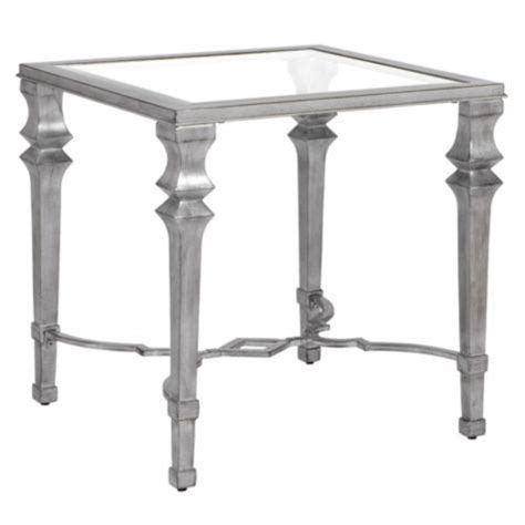 Silver End Table by Antonia End Table Z Gallerie