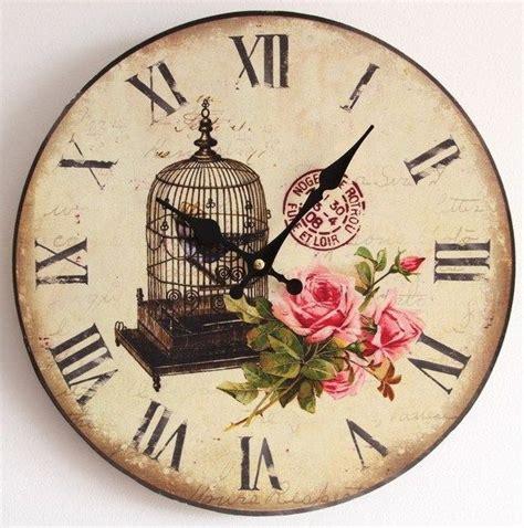 printable vintage clock faces clock face klokken pinterest