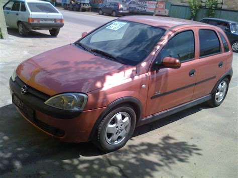 2001 opel corsa photos 1 4 gasoline ff automatic for sale