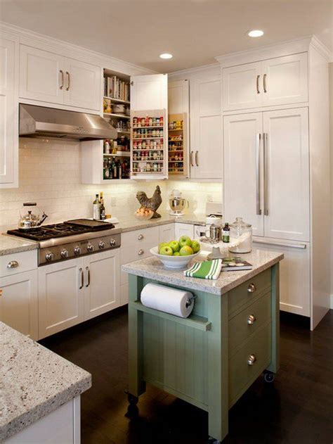 small kitchen with island 25 best ideas about small kitchen islands on pinterest
