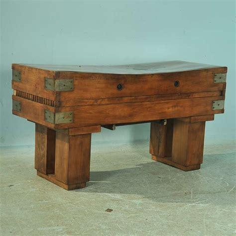antique butcher block table antique butcher block table circa 1900 at 1stdibs