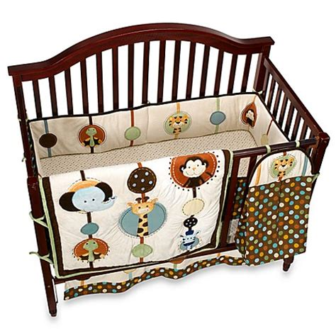 Nojo Jungle Crib Bedding Nojo 174 Jungle Tales 6 Crib Bedding Set Buybuy Baby