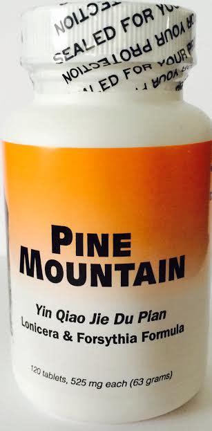 supplement yin blue poppy herbs yin qiao jie du pian pine mountain