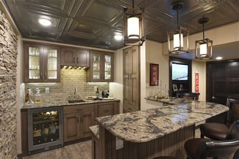 Difabion Remodeling Wins Three Local Rustic Basement Remodel Wins Regional Local Coty Award