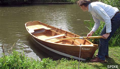 roeiboot bouwtekening bootbouwer webwinkel