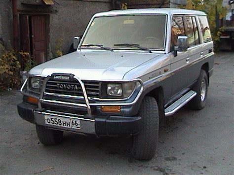 1993 Toyota Land Cruiser For Sale 1993 Toyota Land Cruiser Prado Pictures 3000cc Diesel
