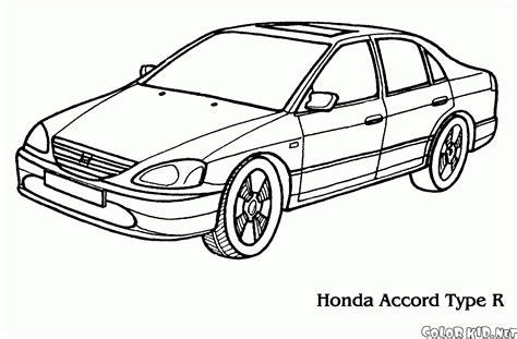 coloring pages honda cars coloring page honda accord