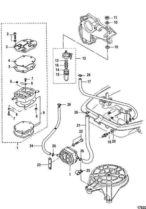 Mariner 30 HP (2 Cylinder) (2-Stroke) (International) Fuel