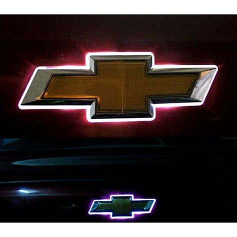 Emblem Tulisan Rs Classic Uk 11 5cm Emblem Honda Jazz led car logo auto badge light white light for