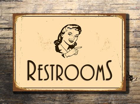 antique bathroom sign vintage bathroom signs 28 images restroom sign