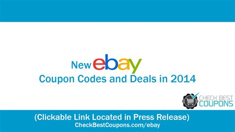 ebay promo new ebay coupons and promo codes for april 2014