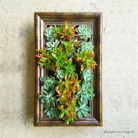 frame a vertical garden diyideacenter
