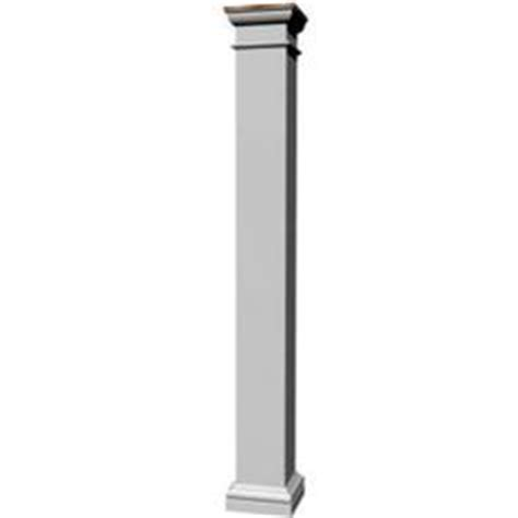 decorative columns home depot 1000 images about front porch pillars on pinterest