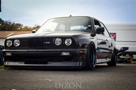 bmw slammed bmw e30 m3 black slammed bmw driving machine