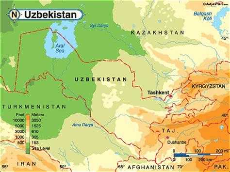 uzbekistan world map uzbekistan images