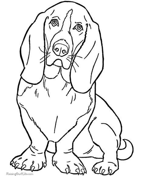 coloring pictures of dogs to print coloring pages 2018 dr