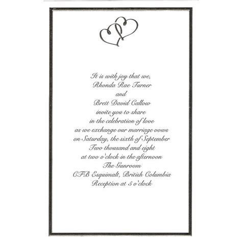 wilton wedding invitations template best template collection