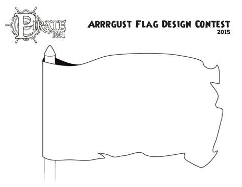 design a flag template arrrgust pirate101 free