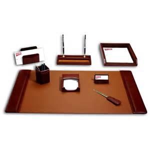 Desk Accessories Sets Dacasso Sassari Leather 8 Desk Set Desk Sets At Hayneedle