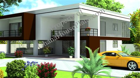 four bedroom house ghana house plans owura house plan