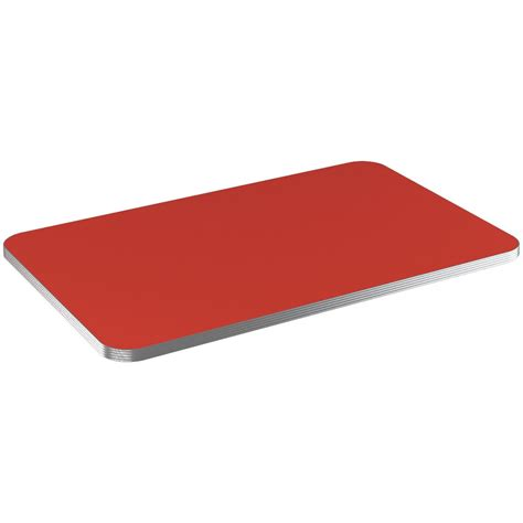 aluminum edge laminate table top