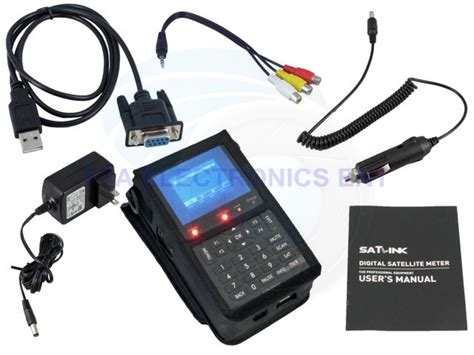 Finders Ws Satlink Ws 6906 Dvb S Digital Satellite Dish Signal Finder