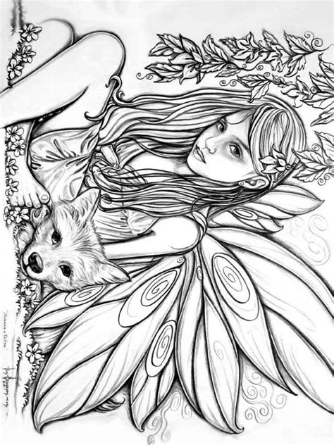 coloring books for adults in stores coloring pages corgi steed the world of fairies