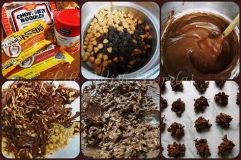 new year chocolate cookies new year cookies or haystacks with lorelai