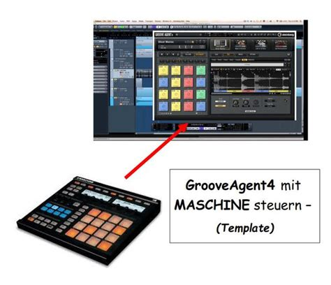 Using Maschine Controller With Groove Agent 4 Se Ni Community Forum Instruments Controller Editor Templates