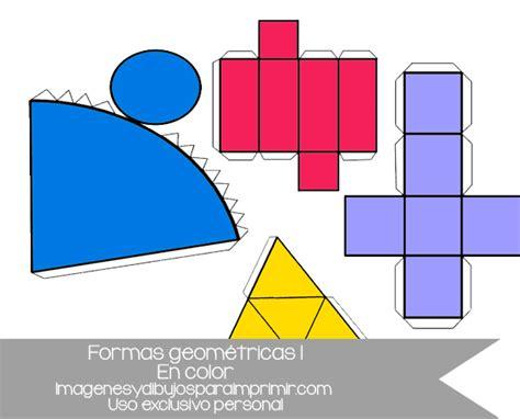 figuras geometricas basicas para armar figuras geom 233 tricas recortables para imprimir