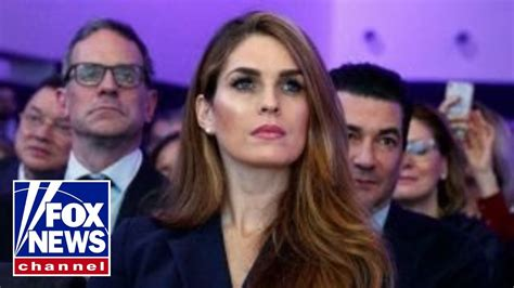hope hicks attorney hope hicks attorney denies new york times report youtube