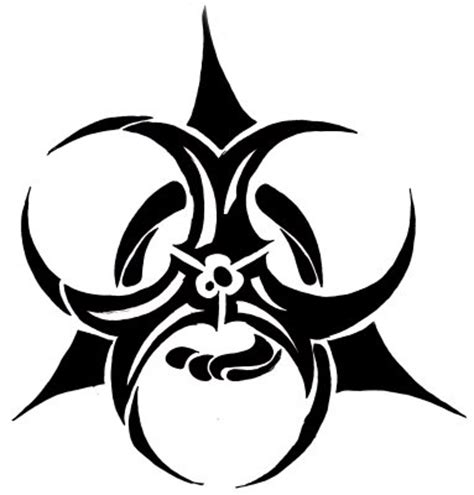 cool biohazard symbols cliparts co