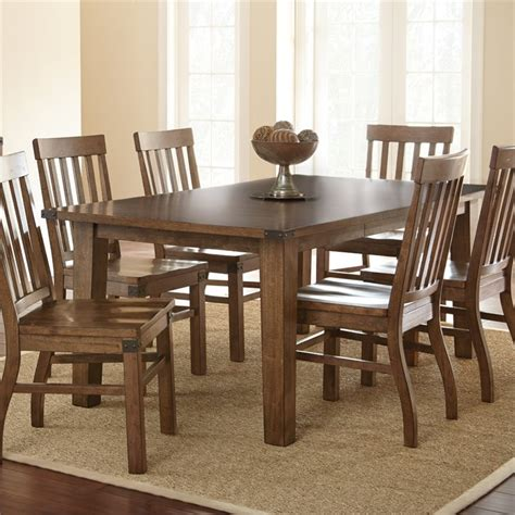 steve silver dining table steve silver hailee dining table in distressed antique oak