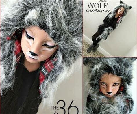 werewolf costume tutorial wolf costume tutorial by the36thavenue com diy and other