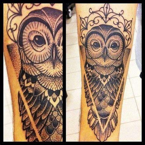 owl tattoo calf owl tattoo possibly a calf tattoo tats i like