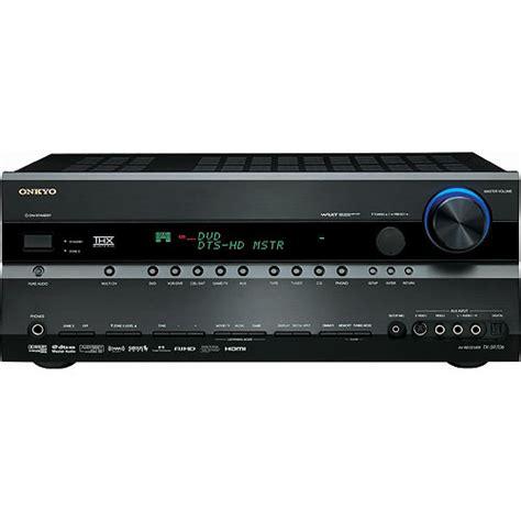 onkyo tx sr706b home theater receiver black tx sr706b b h