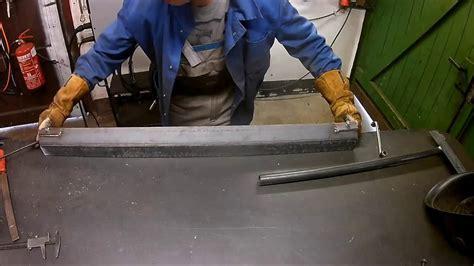 Abkantbank Selber Bauen by Diy Sheet Metal Bender Kantbank Selber Bauen Stel Iron
