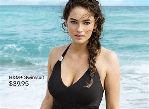 H&M break new ground by using size 12 model Jennie Runk to