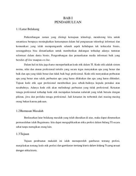 Etika Bisnis Dan Profesi Untuk Direktur Eksekutif Ak Buku 2 Edisi 5 makalah etika profesi hacker