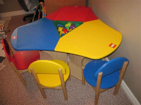 Lego Table And Chairs by Selling Some Items Lego Table With 3 Chairs 150