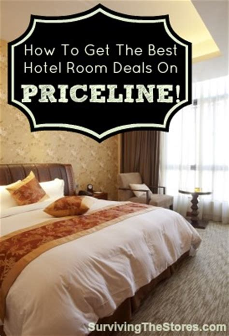 priceline room getting the best hotel room deals with priceline