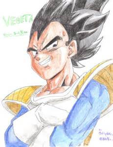vegeta dragon ball fan art wolfgrowl96 deviantart