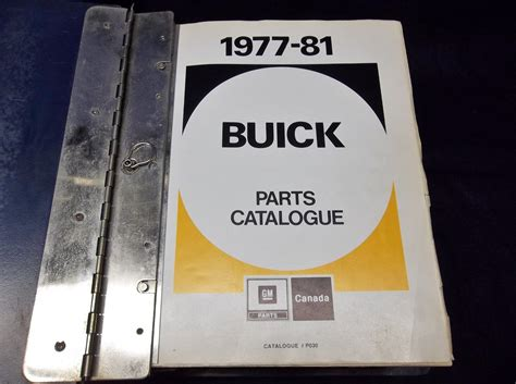 buick gn parts gm buick parts catalog books