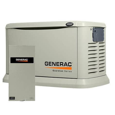 home generator generac generators 22 000 watt air cooled