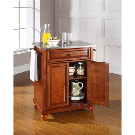 top metal kitchen islands wallpapers unknown resolutions crosley furniture cambridge stainless steel top portable