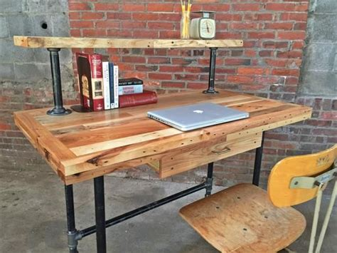 Pipe And Wood Desk Plans