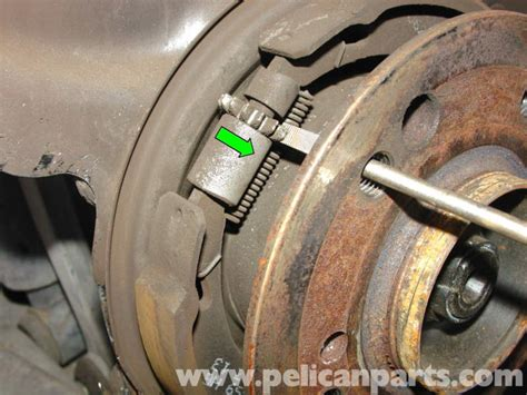Mercedes Benz W210 Parking Brake Replacement 1996 03